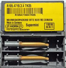 2 Pièces Barre d'alésage Plaquettes Supermini Horn R105. 4719.3.4 TN35