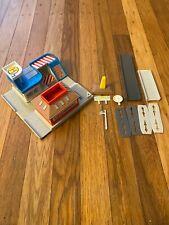 Vintage 1991 Galoob Micro Machines Hiways & Byways Emergency Corner Playset
