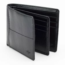 Dockers® Extra-Capacity Genuine Leather Slimfold Wallet Black Brand New In Box