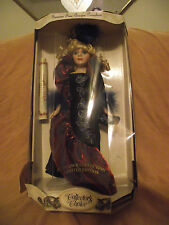 GENUINE FINE BISQUE PORCELAIN DOLL(with certificate of authenticity)