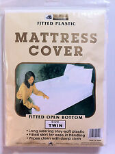 mattress cover, twin size, fitted open bottom- 1 piece