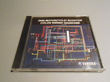 NOS Yamaha Color Wiring Diagram DVD 2006 Motorcycle and Scooter LIT-CDSRV-WD-06