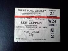 Led Zeppelin ticket Empire Pool Wembley 02/11/71 Electric Magic  #N2