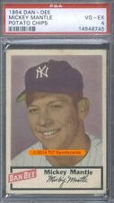 1954 Dan Dee  Mickey Mantle PSA 4 (8745)