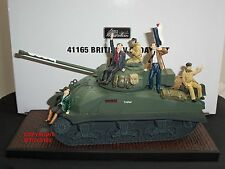 BRITAINS 41165 COLLECTORS CLUB BRITISH VE DAY MILITARY TANK TOY SOLDIER VEHICLE