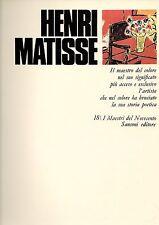 Henri Matisse Sansoni Editore Firenze 1977