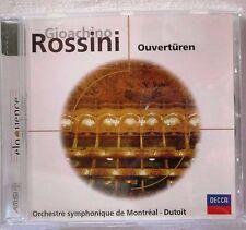 Gioachino Rossini * ouvertures * Orchestre Symphonique de Montréal * Dutoit