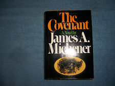 THE COVENANT by James A. Michener/1st Ed/HCDJ/Literature/Fiction/Historical