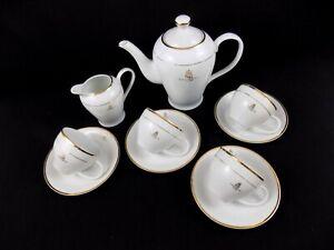 Elizabeth: 10 Piece Vintage China Shabby Chic Golden Jubillee Coffee Set
