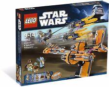 LEGO Star Wars Anakin Skywalker and Sebulba's Podracers (7962) NEW