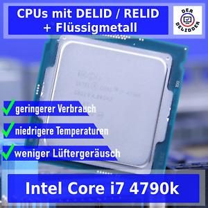 ✅ Intel i7-4790K ✅🔝 DELID/RELID Service + Flüssiges Metall 🔝