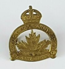 WW2 Royal Canadian Army Cadets Cap Badge - 2 Lugs