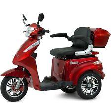 Elektromobil, Seniorenmobil, Dreirad Elektro Roller, Elektrorollstuhl, S1000 Rot