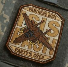 F-15 494th FS PANTERS DAESH BASHER @RAF LAKENHEATH vêlkrö PATCH: PARTY'S OVER