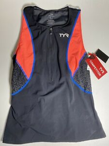 TYR Womens Loose Singlet With Bra Size Small NWD Swim Competitor