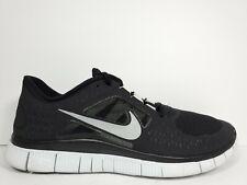 Nike Free Run 3 Mens Size 10.5 Shoes Black Grey Reflective Silver 443815 044
