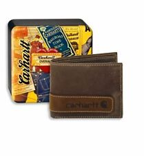 Carhartt Leather Trifold Wallets for Men