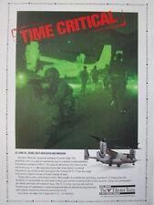 4/1992 PUB BELL BOEING TILTROTOR TEAM V-22 OSPREY ORIGINAL AD