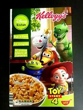 KELLOGGS EMPTY BOX TOY STORY 4  COLLECTOR ITEM