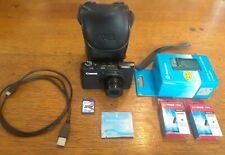 Canon PowerShot S95 10MP Digital Cámara negro con batería + cargador +2 Baterías + Estuche