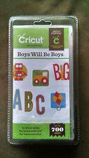 Cricut Boys Will Be Boys Cartridge in its original packaging