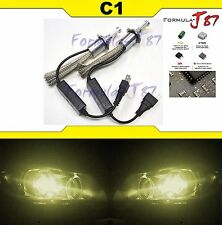 LED Kit C1 60W H7 3000K Yellow Two Bulbs Head Light Low Beam Replacement Upgrade