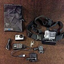 Gopro HERO 3+ Camera Black Edition Camcorder CHDHX-302 & Remote ARMTE-001