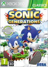 Sonic Generations ~ XBox 360 Game (in Good Condition)