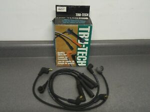 New Standard Tru-Tech Spark Plug Wires Set 4657 Fits Nissan Stanza