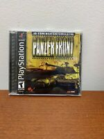 Panzer Front Sony PlayStation 1 Video Game 2001 PS1 Complete W/Manual Tanks War