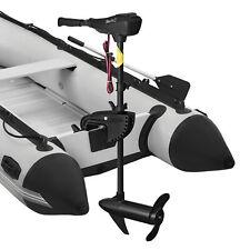 in.tec Motore barca fuoribordo elettrico 36 lbs 5/3 marcia Elica di 2 lame 76cm