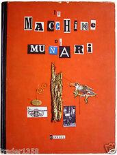 Le Macchine di Munari EINAUDI rara prima edizione 1942 per collezionisti!