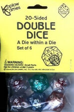 New listing KOPLOW GAMES INC. KOP12622 20 SIDED DOUBLE DICE. Shipping is Free