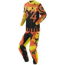 Fox Racing Adult HC 180 Anthem Off Road MX Gear Set Orange Yellow Medium / 32