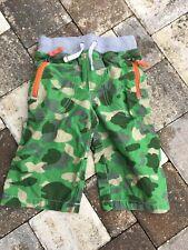 EUC Mini Boden Boys Camo Shorts Size 7