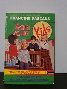 Sweet Valley Kids Super SNOOPER #6:The Case Of The Million Dollar Diamonds