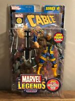 """Marvel Legends Series 6 VI Cable 6"""" Action Figure Sealed & New"""