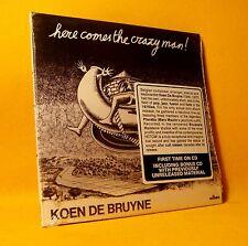 SEALED CD Koen De Bruyne Here Comes The Crazy Man! 4TR 1974 Jazz Fusion RARE !