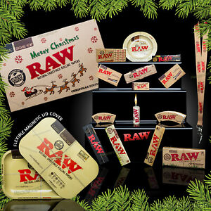 RAW XMAS Ed Rolling Tray w/ Magnetic Lid + Acc's worth £55! SPECIAL DELIVERY!!!!
