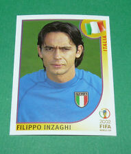 N°472 INZAGHI ITALIA ITALY PANINI FOOTBALL JAPAN KOREA 2002 COUPE MONDE FIFA