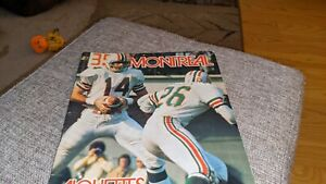 1972 Montreal Alouettes CFL Football Illustrated Program vs. Toronto Argo