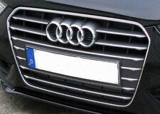 Original Audi A4 Chromzierleisten für Kühlergrill, Chromleisten Audi Singleframe