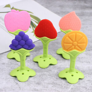 Baby Teether Safety Silicone Fruit Teethers for Baby Infant Kids Chew ToothYXAU