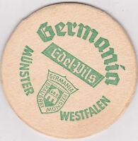 alter Bierdeckel Germania Edel Pils Münster
