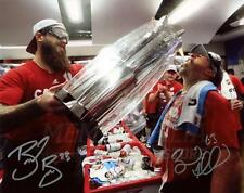 Brent Burns Brad Marchand Signed Autographed Drinking World Cup Canada 8x10
