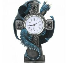 Nemesis Now - GOTHIC DRAGON CELTIC ANNE STOKES CLOCK - Draco Clock