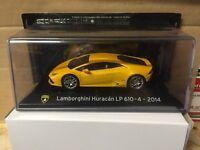 "DIE CAST "" LAMBORGHINI HURACAN LP 610-4 - 2014 "" SUPER CAR SCALA 1/43"