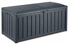 Keter Kissenbox Glenwood Garten Auflagenbox 390L Kunsstoff Aufbewahrungsbox 9