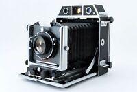 【N MINT】 Horseman 980 + Topcon 105mm F3.5 cam + Film Back From Japan 1367