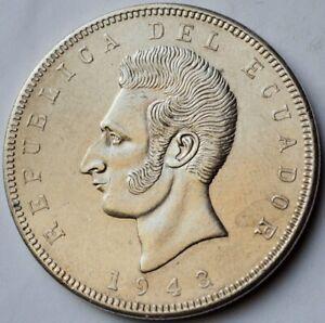 Ecuador 5 Sucres 1943, Antonio José de Sucre